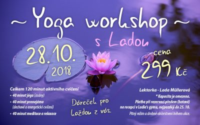 Yoga workshop s Ladou